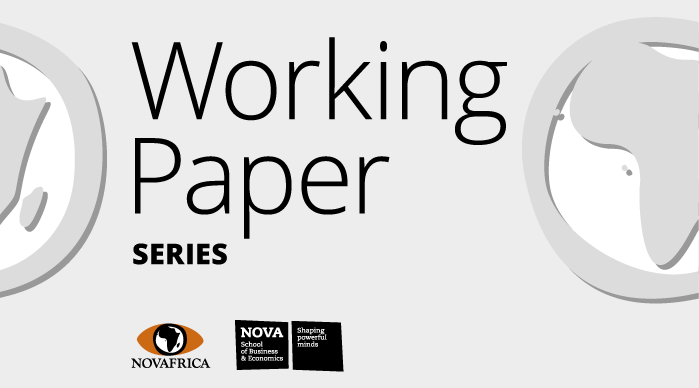 NOVAFRICA Working Paper Series